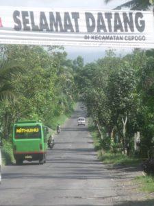 Selamat Datang di Kecamatan Cepogo, Boyolali